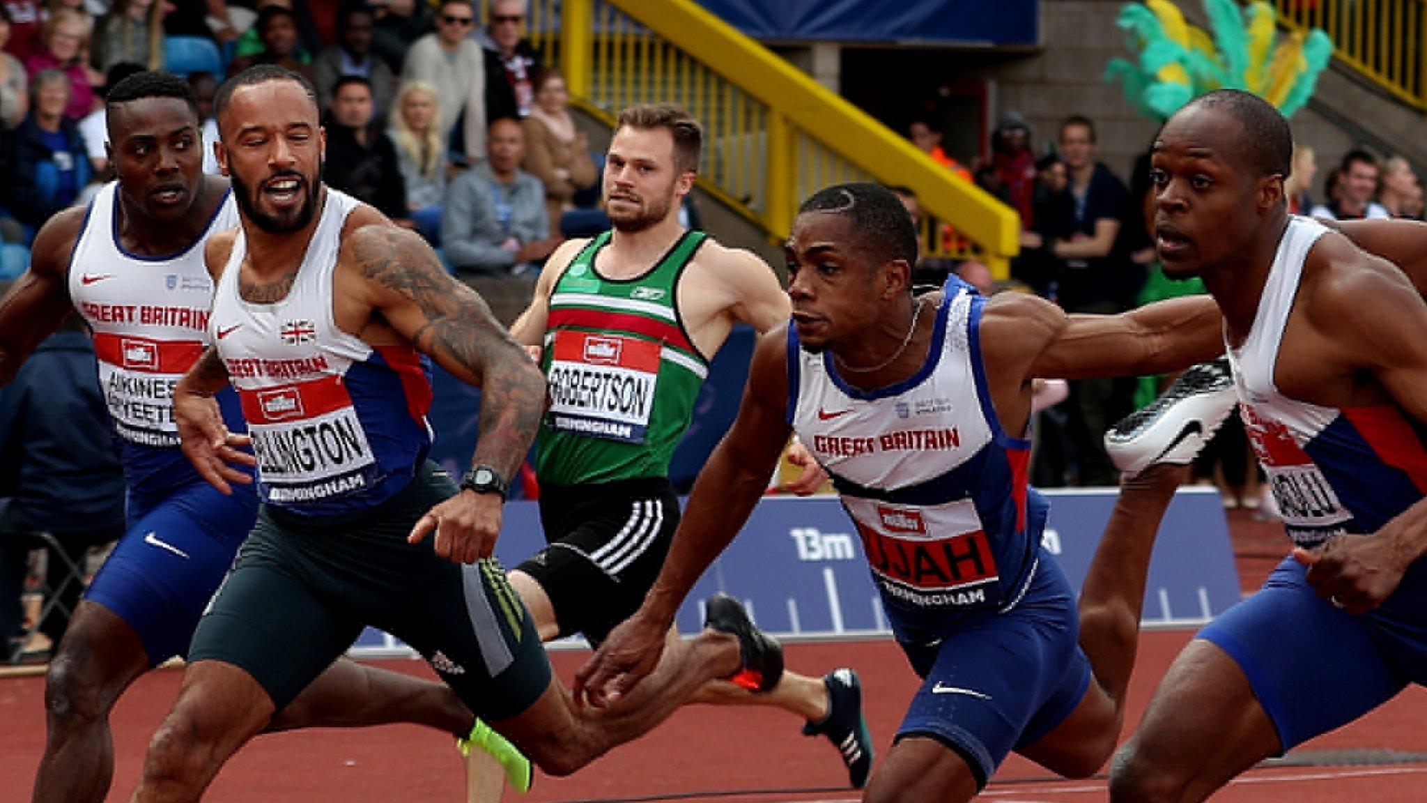 Dasaolu & Ellington secure GB 100m Olympic berths - report & highlights