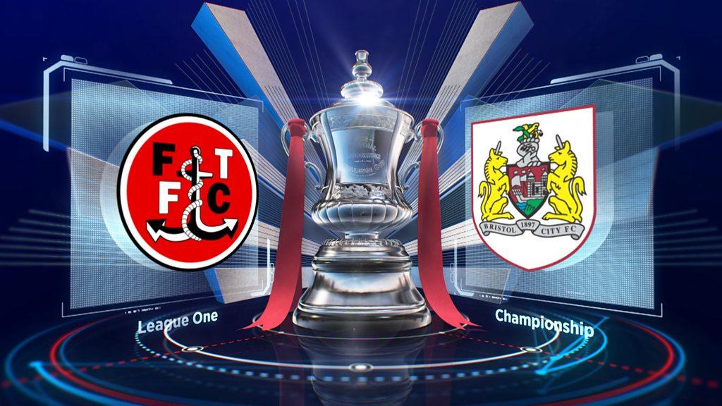 FA Cup: Fleetwood Town 0-1 Bristol City highlights