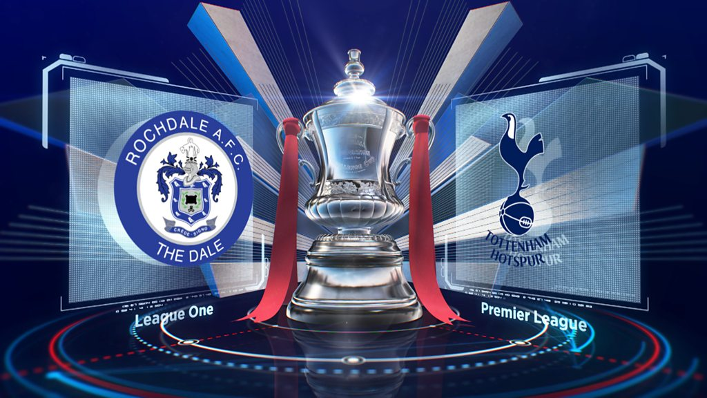 FA Cup: Rochdale 2-2 Tottenham Hotspur FA Cup fifth round highlights