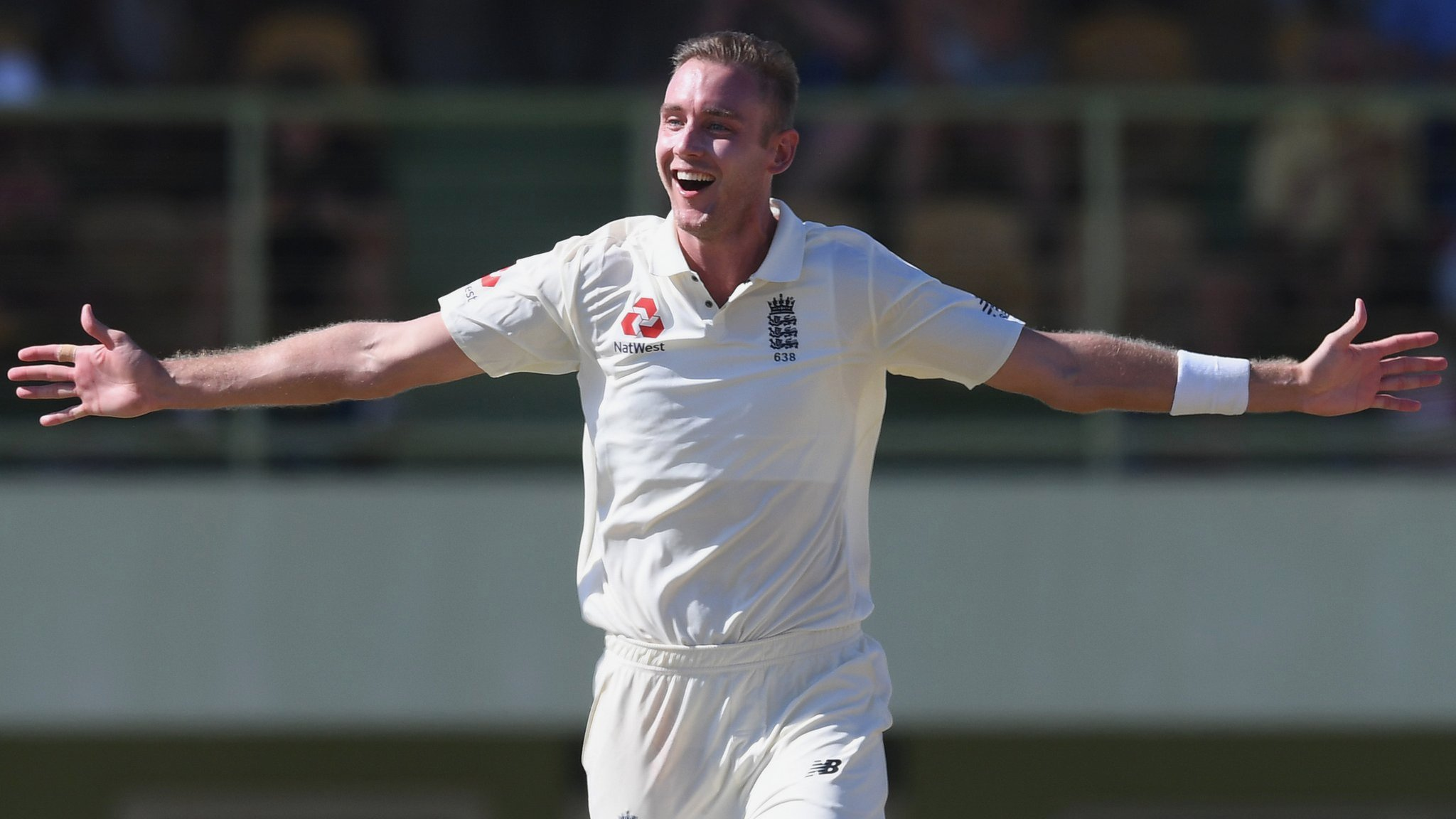 England in West Indies: Stuart Broad takes hat-trick in warm-up game