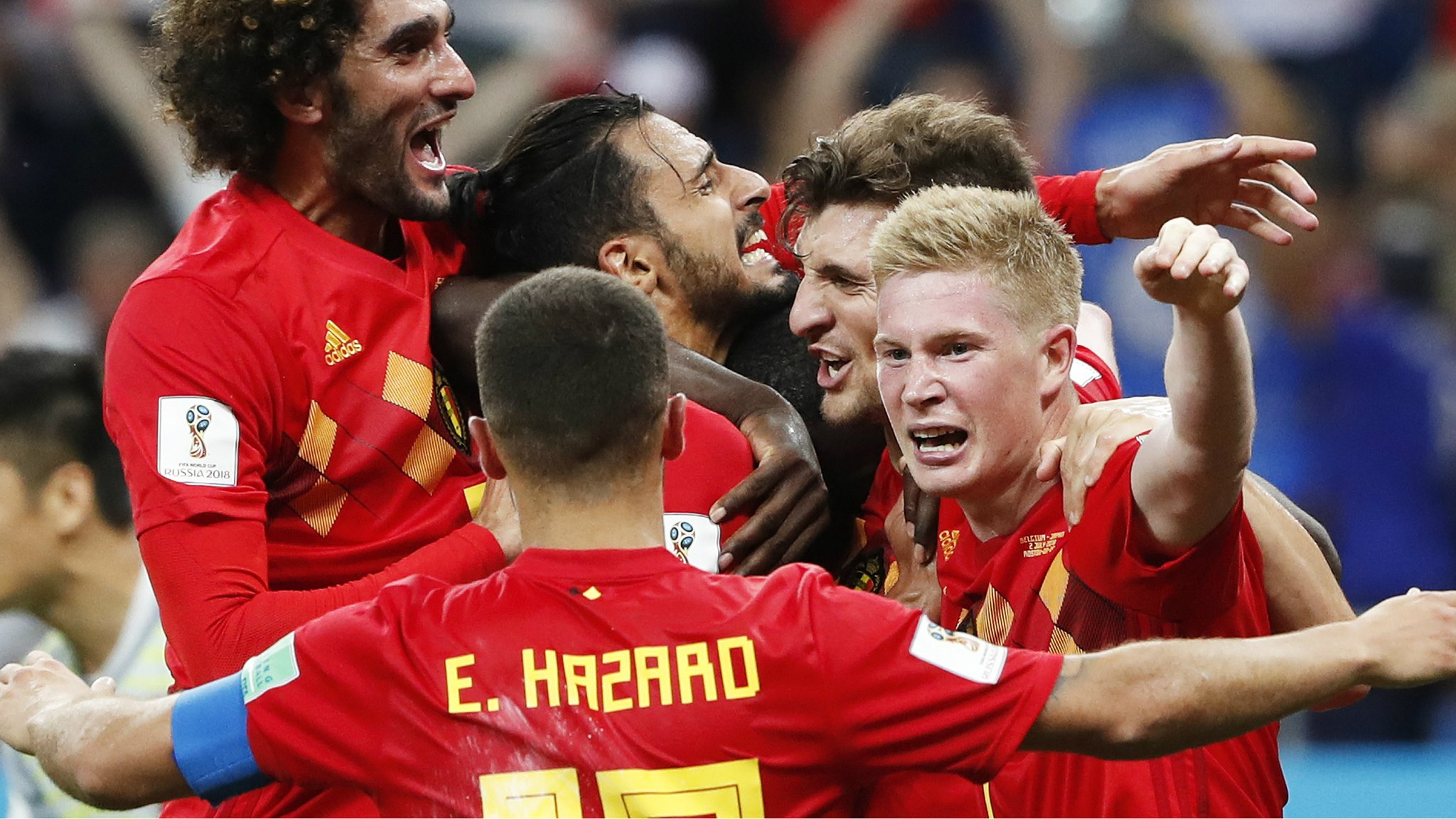 Watch: Belgium's Chadli scores dramatic stoppage-time winner