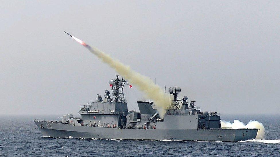 Misil balístico surcoreano