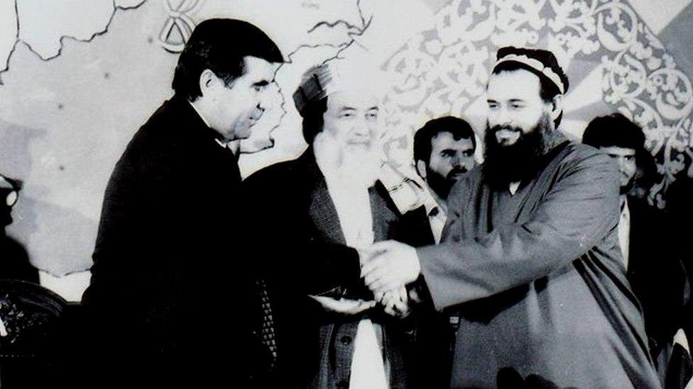 نقش ربانی و مسعود در ایجاد صلح در تاجیکستان