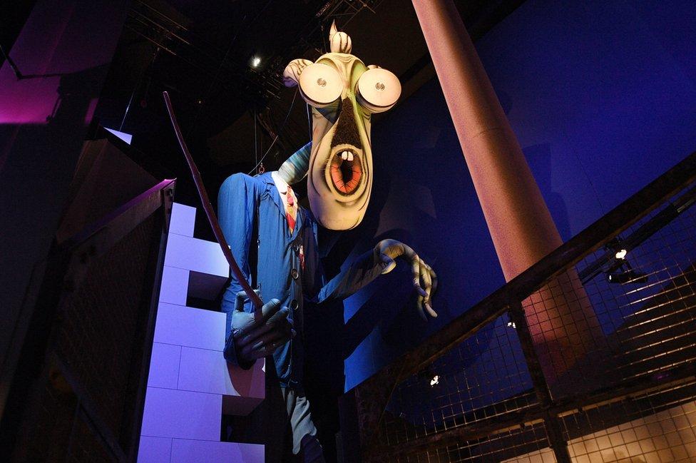 La marioneta inflable de El Maestro, de Roger Waters The Wall