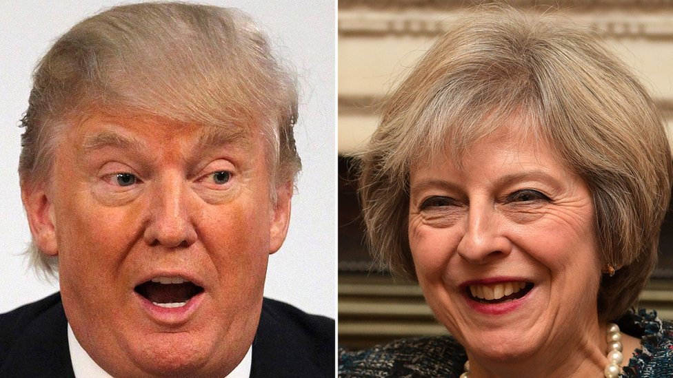Theresa May to meet Donald Trump on Friday - White House
