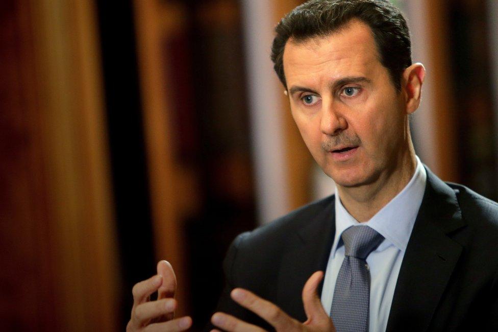 Bashar al-Assad (January 2014)