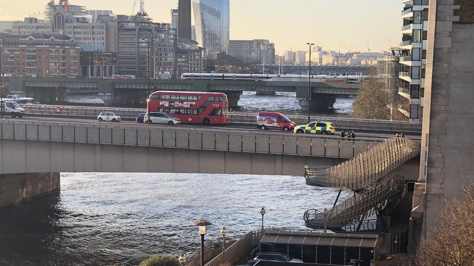 London Bridge sealed off