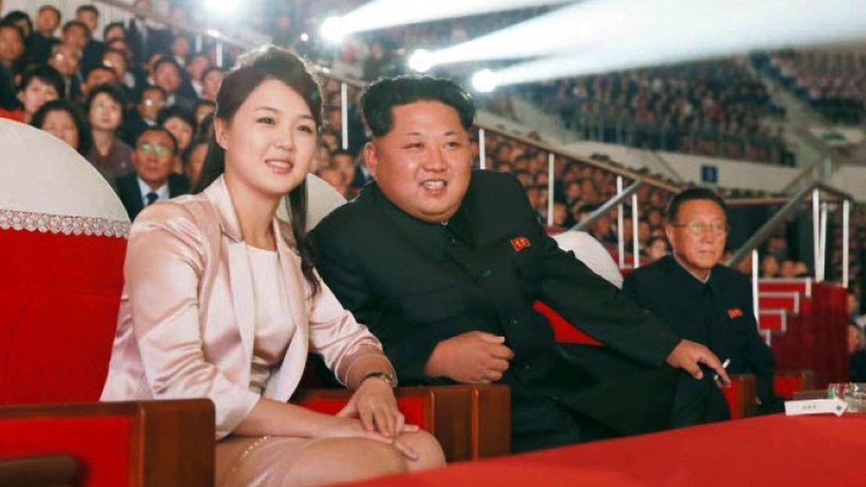 金正恩和夫人李雪主
