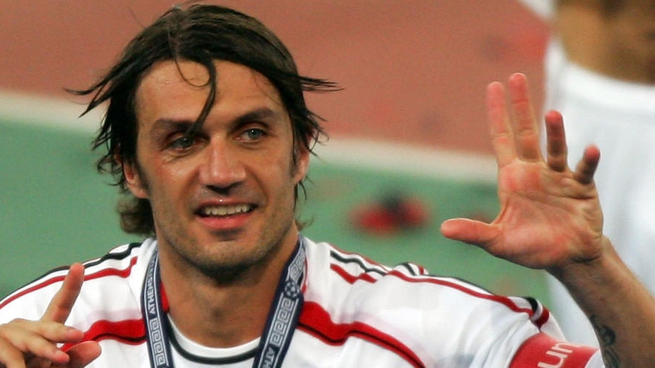 Ex-Italy & Milan defender Maldini qualifies for pro tennis event