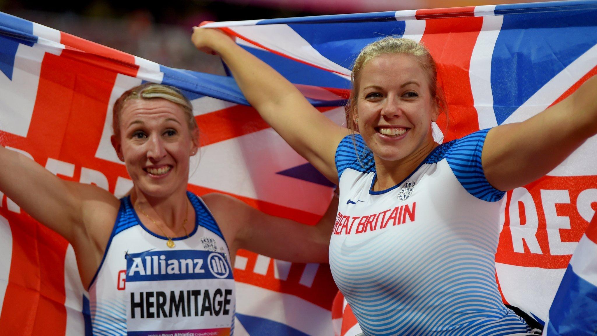 Cockroft wins third gold & Hermitage sets world record