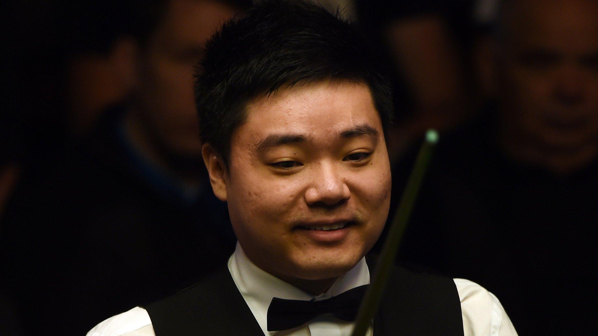 International Championship: Ding Junhui beats Judd Trump to reach final