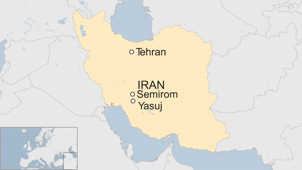 Passenger plane crashes in Iran mountains