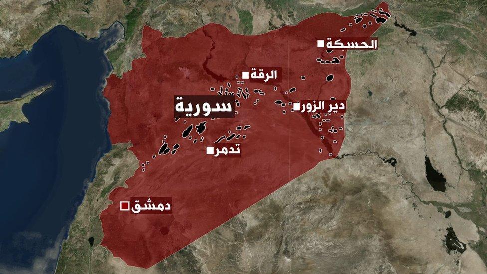 مناطق وجود النفط والغاز في سوريا