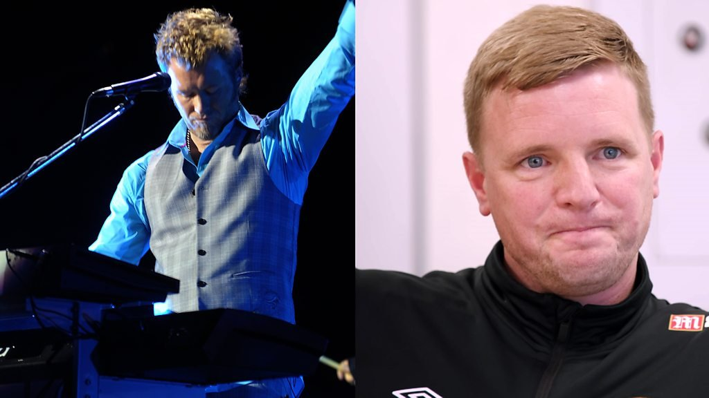 Eddie Howe: Bournemouth boss on his love of electric 80s music and A-ha
