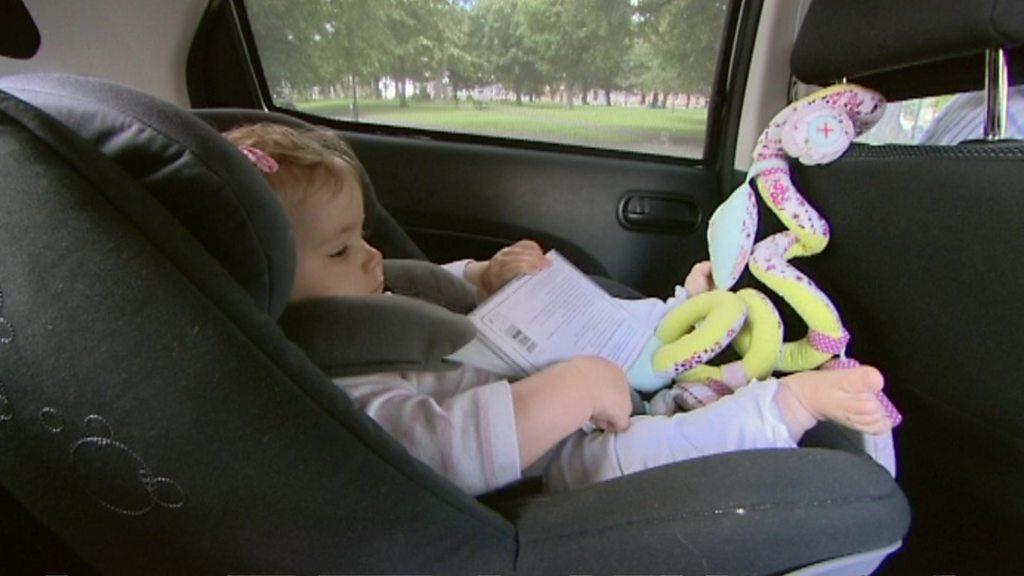 Car seat suffocation warning for babies on long journeys - Medical ...