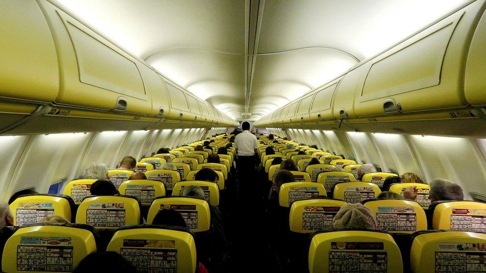 Dozens hurt as Ryanair flight loses cabin pressure