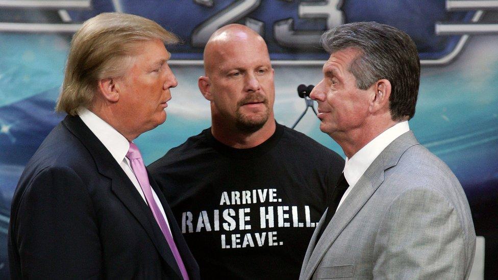 Donald Trump y Vince McMahon