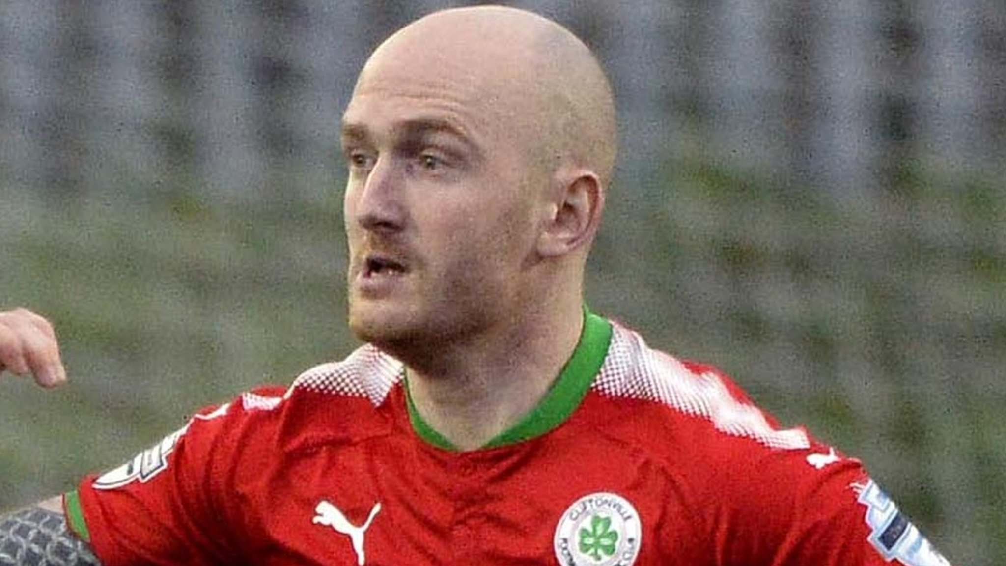 Ryan Catney: Midfielder to leave Cliftonville after 12-year stint