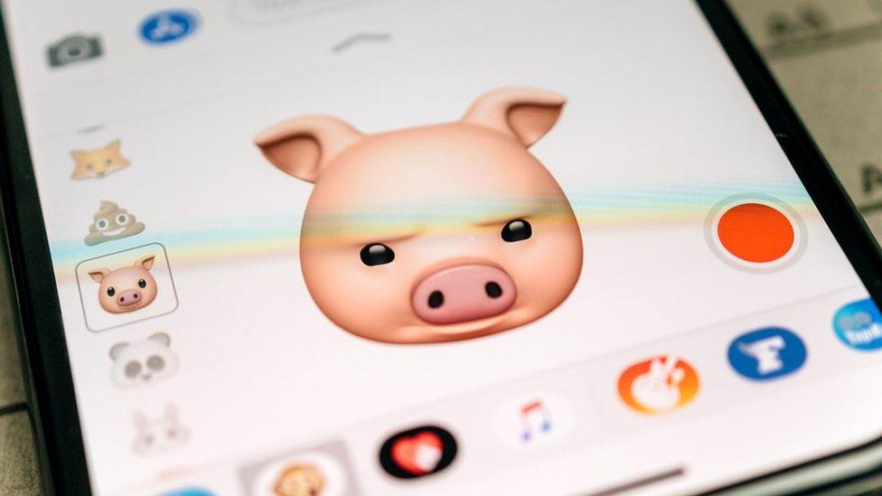 """Los """"animojis"""" fueron una de las grandes novedades del iPhone X de Apple."""
