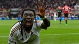 Bafetimbi Gomis panther celebration
