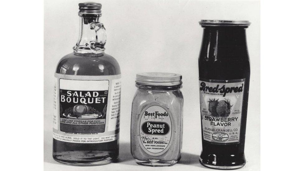 Algunos de los alimentos que se consumían a principios del siglo XX