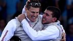 GB stun Italy to win fencing gold