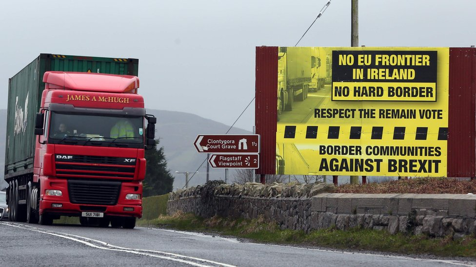 Brexit: Sites for possible Irish border checkpoints examined