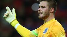 Stoke goalkeeper Jack Butland