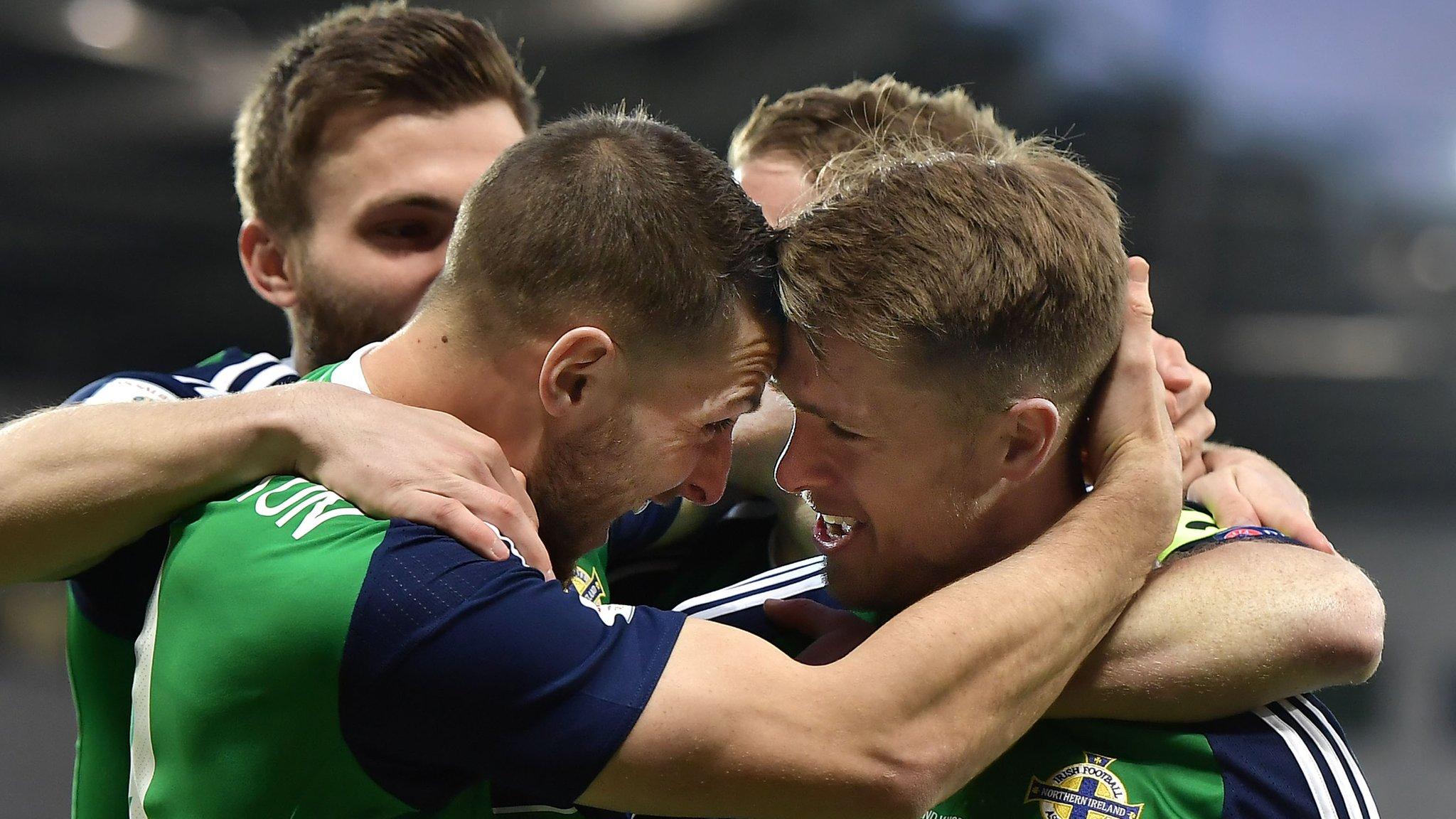 Northern Ireland climb nine place in Fifa world rankings, Brazil top list
