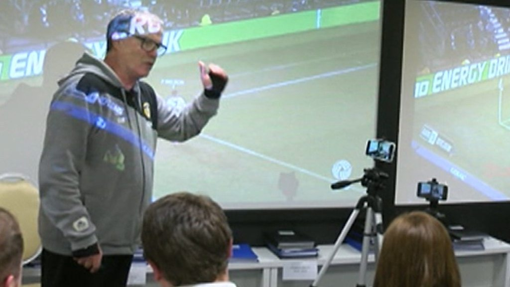 Leeds: Marcelo Bielsa's PowerPoint presentation after 'spying' claims
