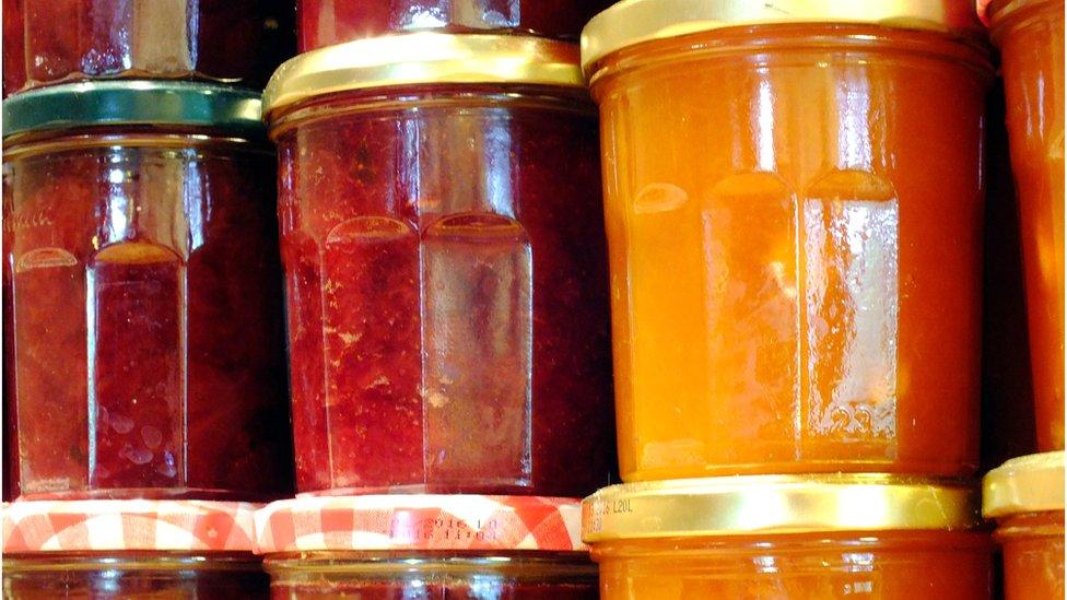 Mouldy jam: Should you eat what's beneath?