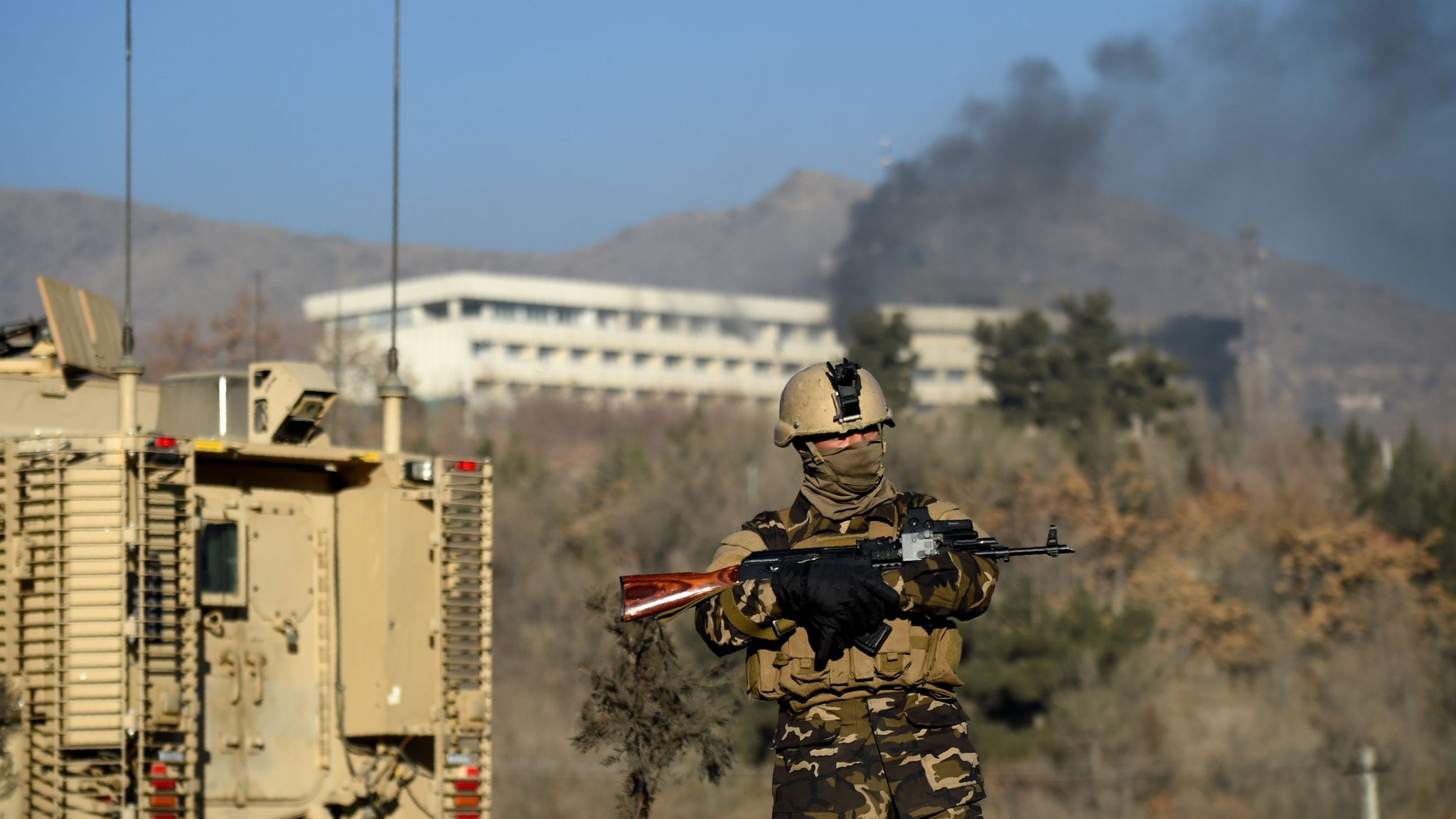 Kabul: Gunmen shot Intercontinental Hotel diners - eyewitness
