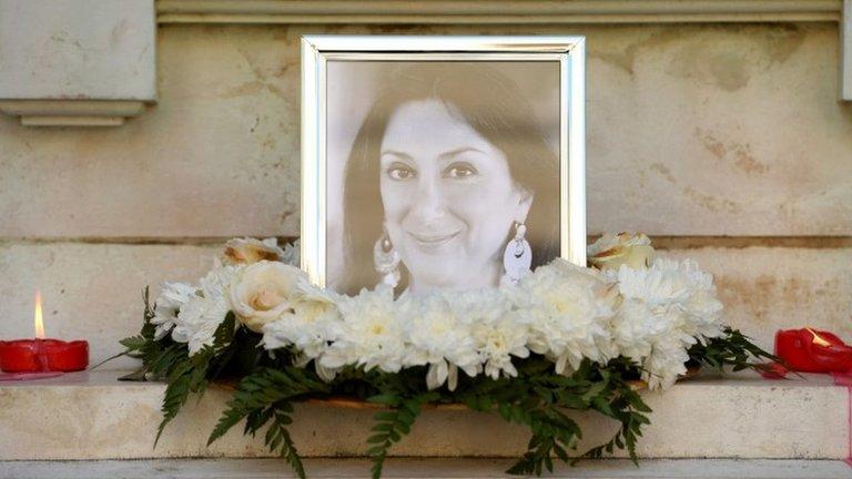 Daphne Caruana Galizia: Malta journalist killed by 'remotely detonated' bomb