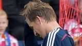 Ryan Gauld was sent off for Scotland Under-21s against France