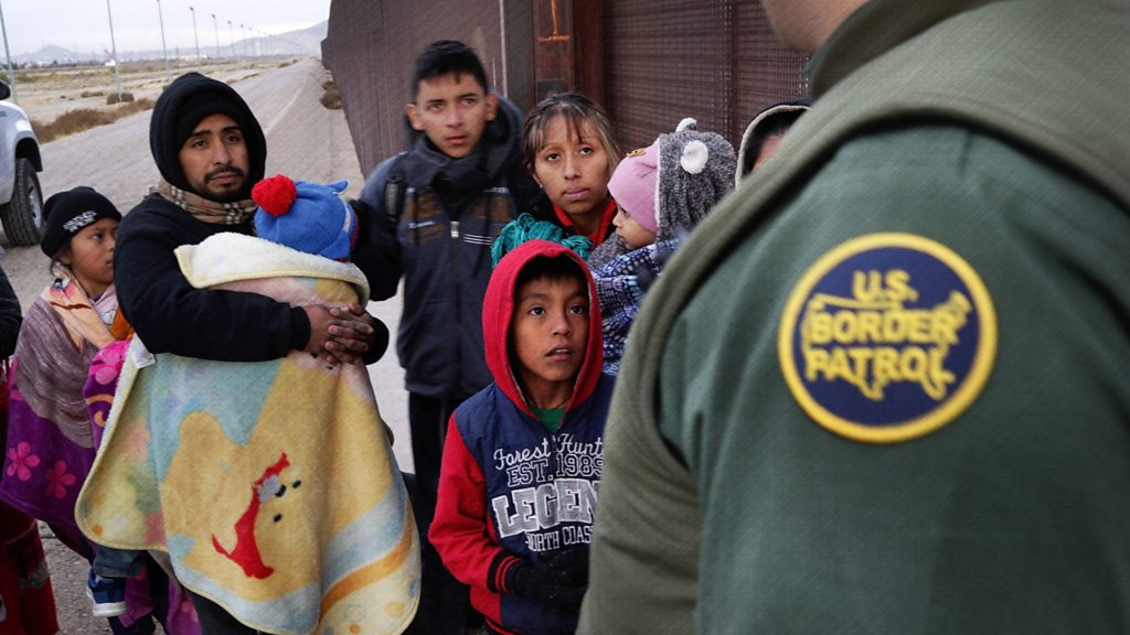 Five numbers that explain US border crisis