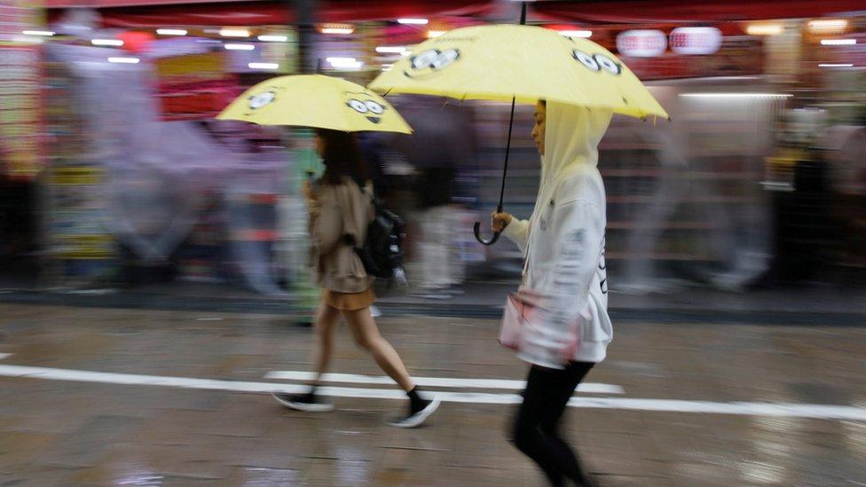 Typhoon Lan hits Japan leaving three dead