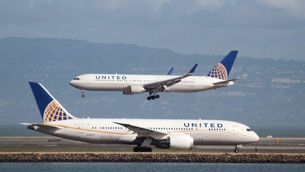Aviones de United