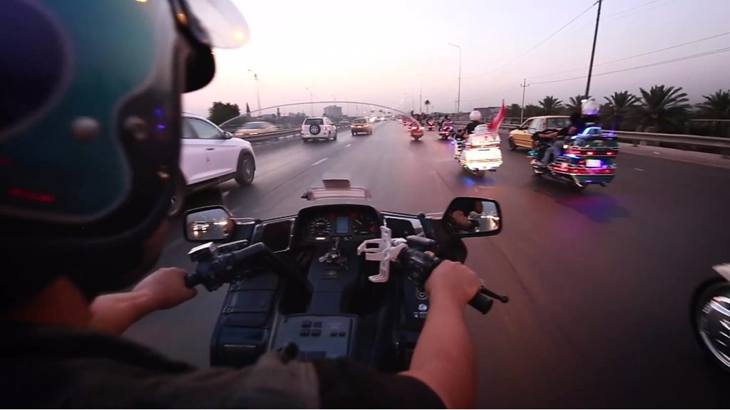 Iraq's bikers on the frontlines