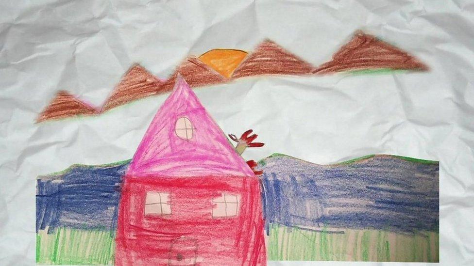 نقاشی کرونا برای بچه ها