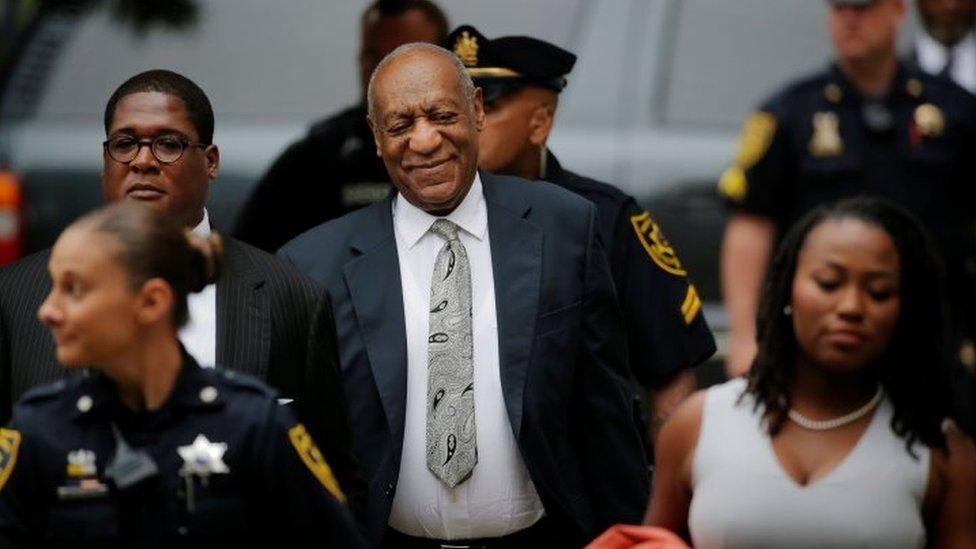 Bill Cosby llega al juzdado en Pennsylvania, el 17 junio de 2017