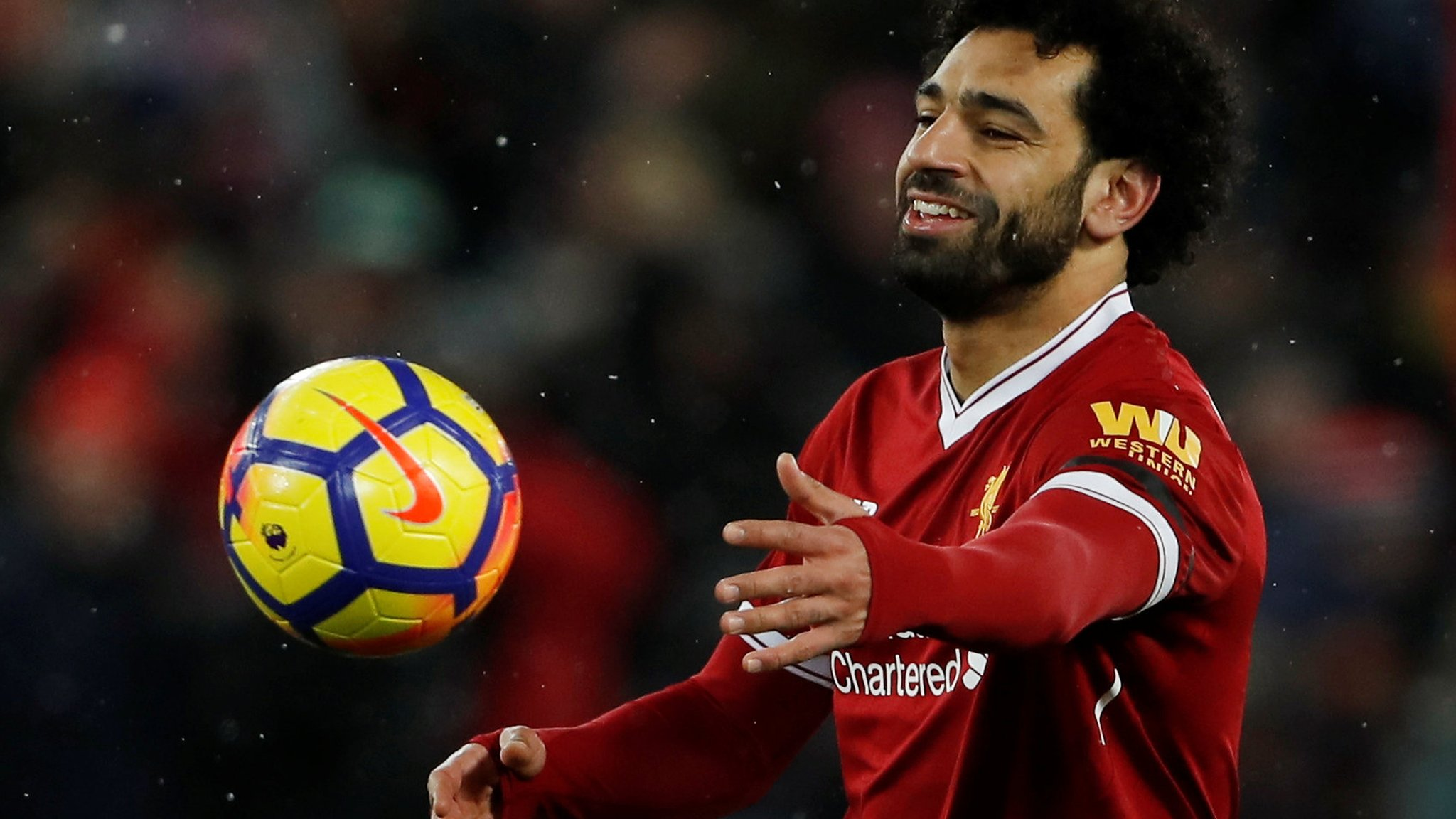 Salah hits four as Liverpool thrash Watford