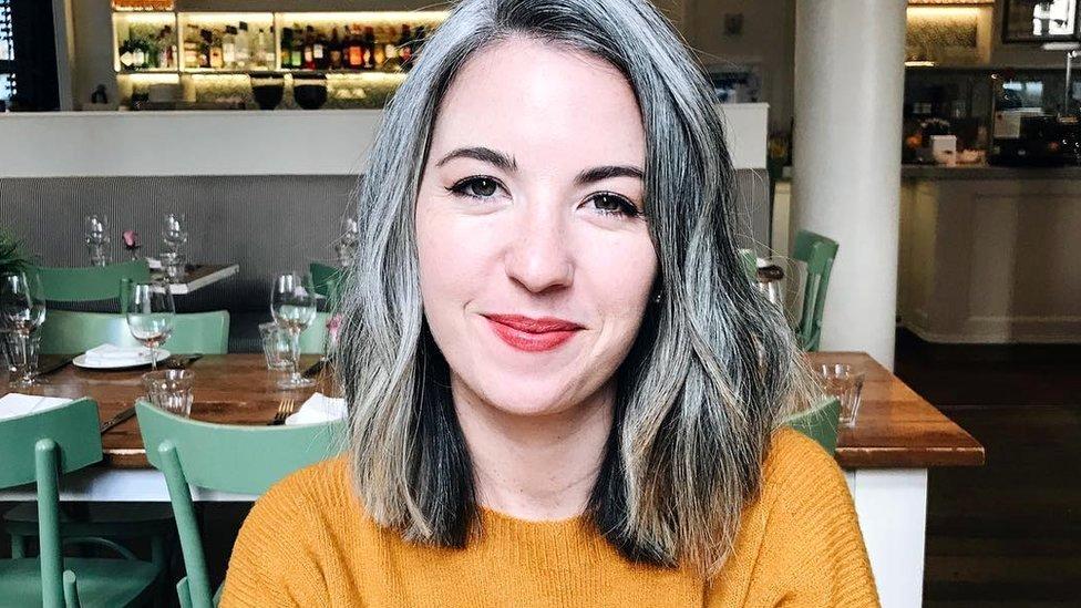 The women choosing to love their natural grey hair