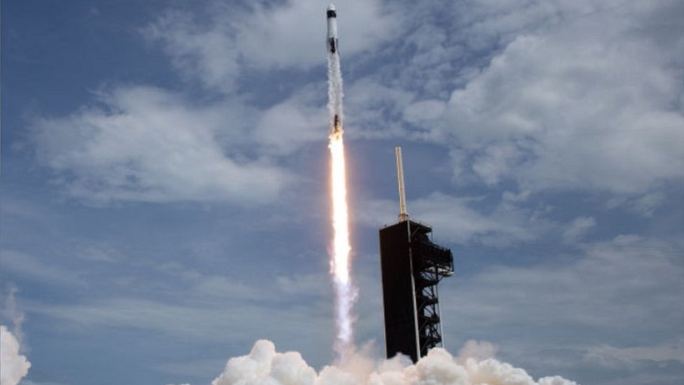 SpaceX rocket launch, file pic, May 2020
