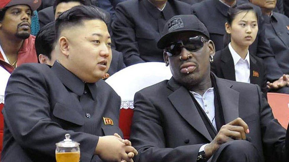 美國與北韓的籃球外交》羅德曼、金正恩、川普存在「三角關係」嗎?