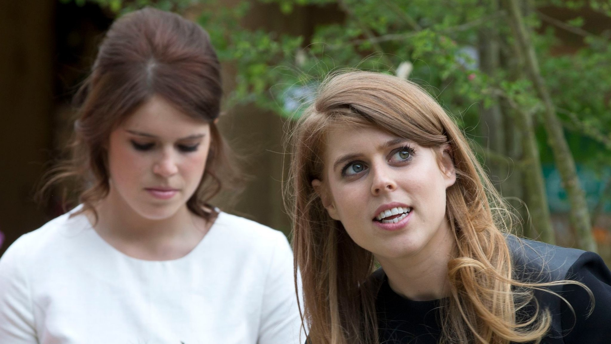 Prince Andrew denies rift over daughters Eugenie and Beatrice