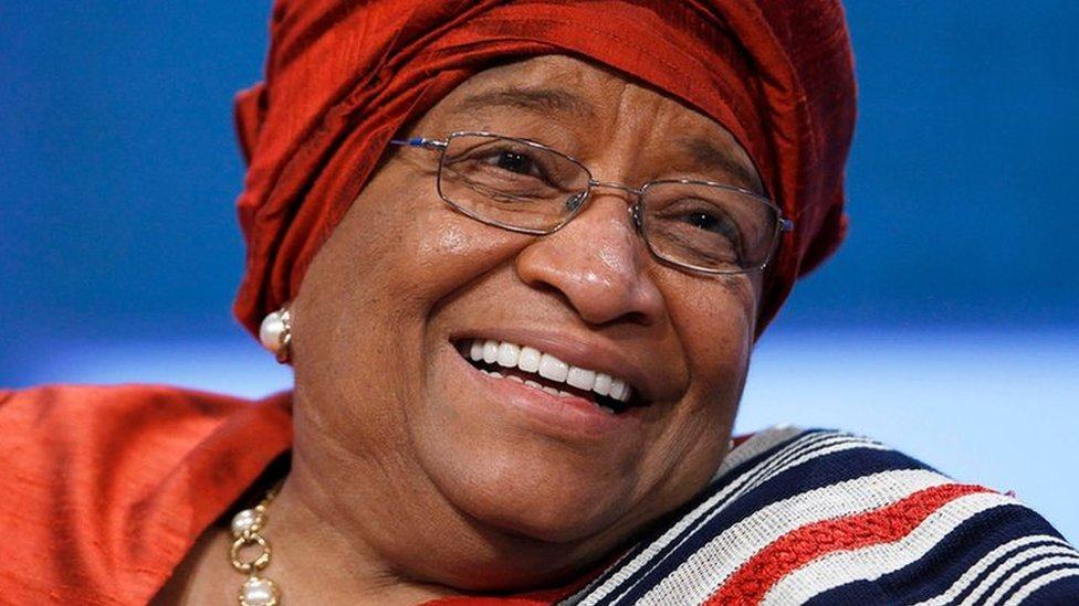 What did Liberia's first female leader achive?
