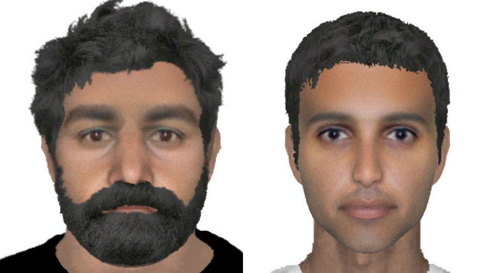 RAF Marham abduction attempt: E-fits released of suspects