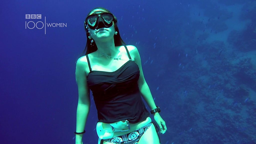 100 Women: 'You are truly free while freediving'