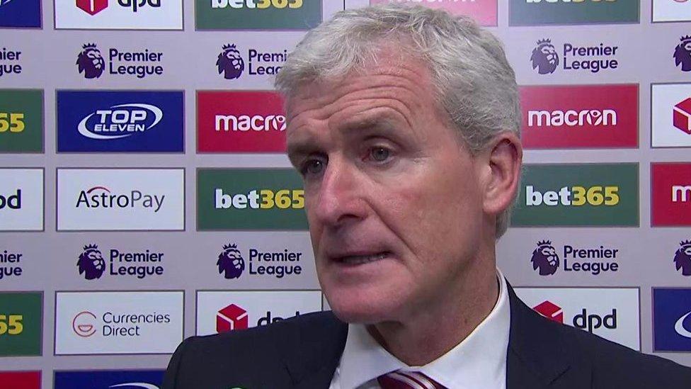 Stoke 0-3 West Ham: Stoke 'damaged' by penalty decision - Mark Hughes