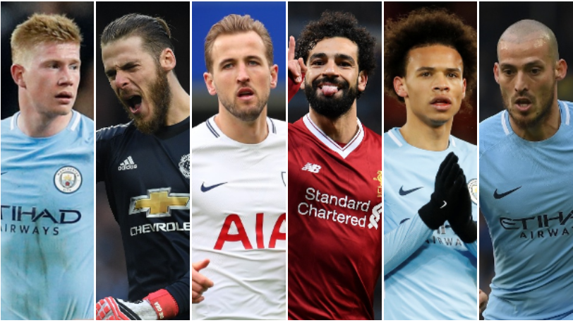 Vote for your player of the year from PFA shortlist